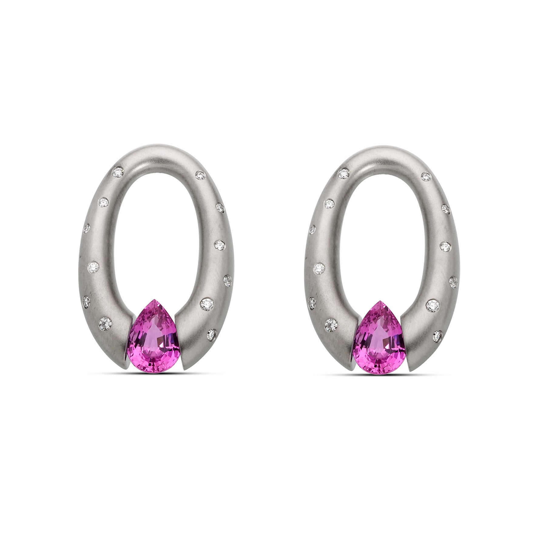 pave stud products gold at shaped rose buy shape pear earrings geometric rg