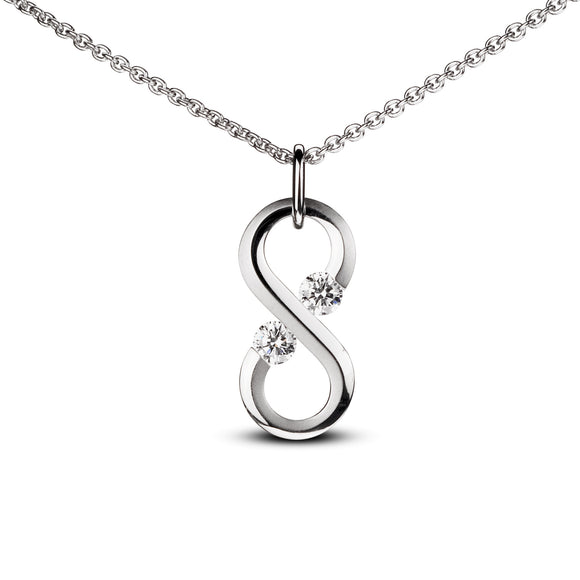 Small Vertical Infinity Pendant