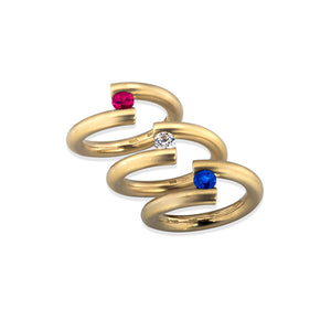 Spiral Truncated Rings