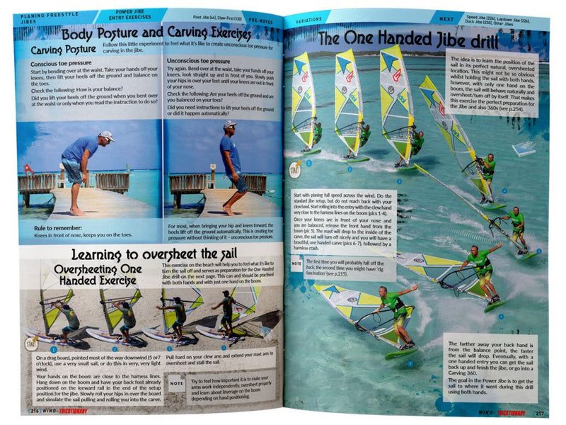 Tricktionary 3 Windsurfing Bible - English