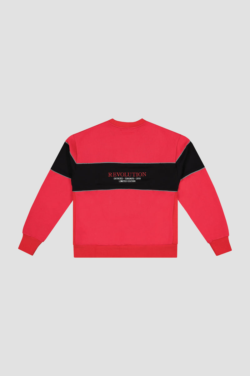 3M EMBROIDERED CREWNECK