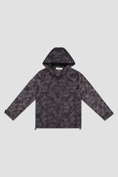 CAMO MULTI POCKET WINDBREAKER