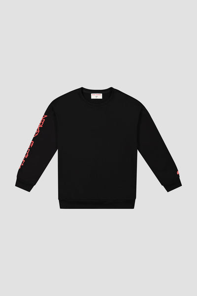 PAINT PRINTED CREWNECK