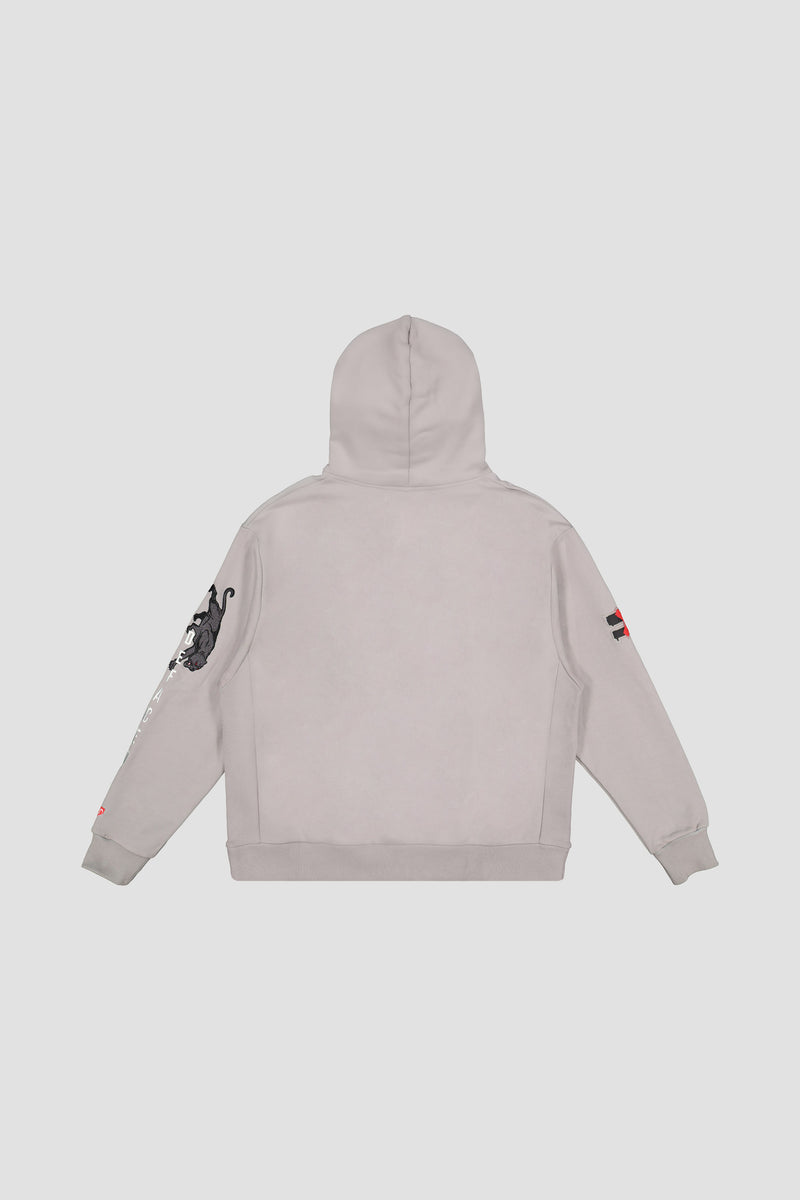 PANTHER EMBROIDERED HOODIE
