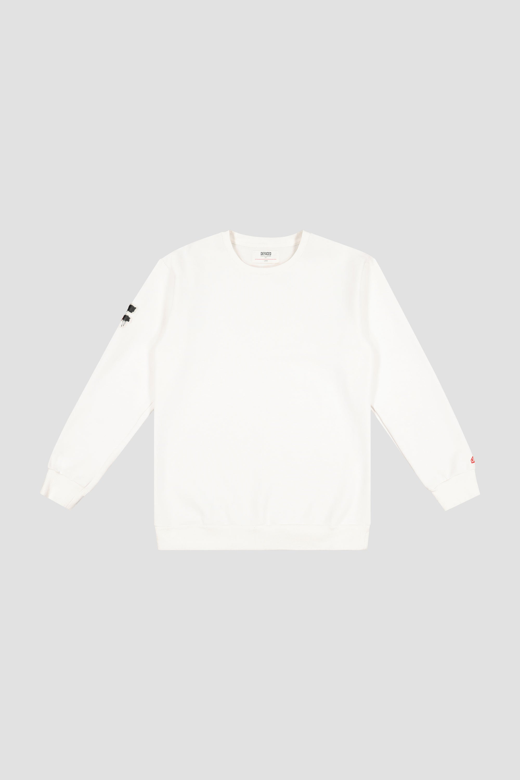 SPRAY PRINTED CREWNECK