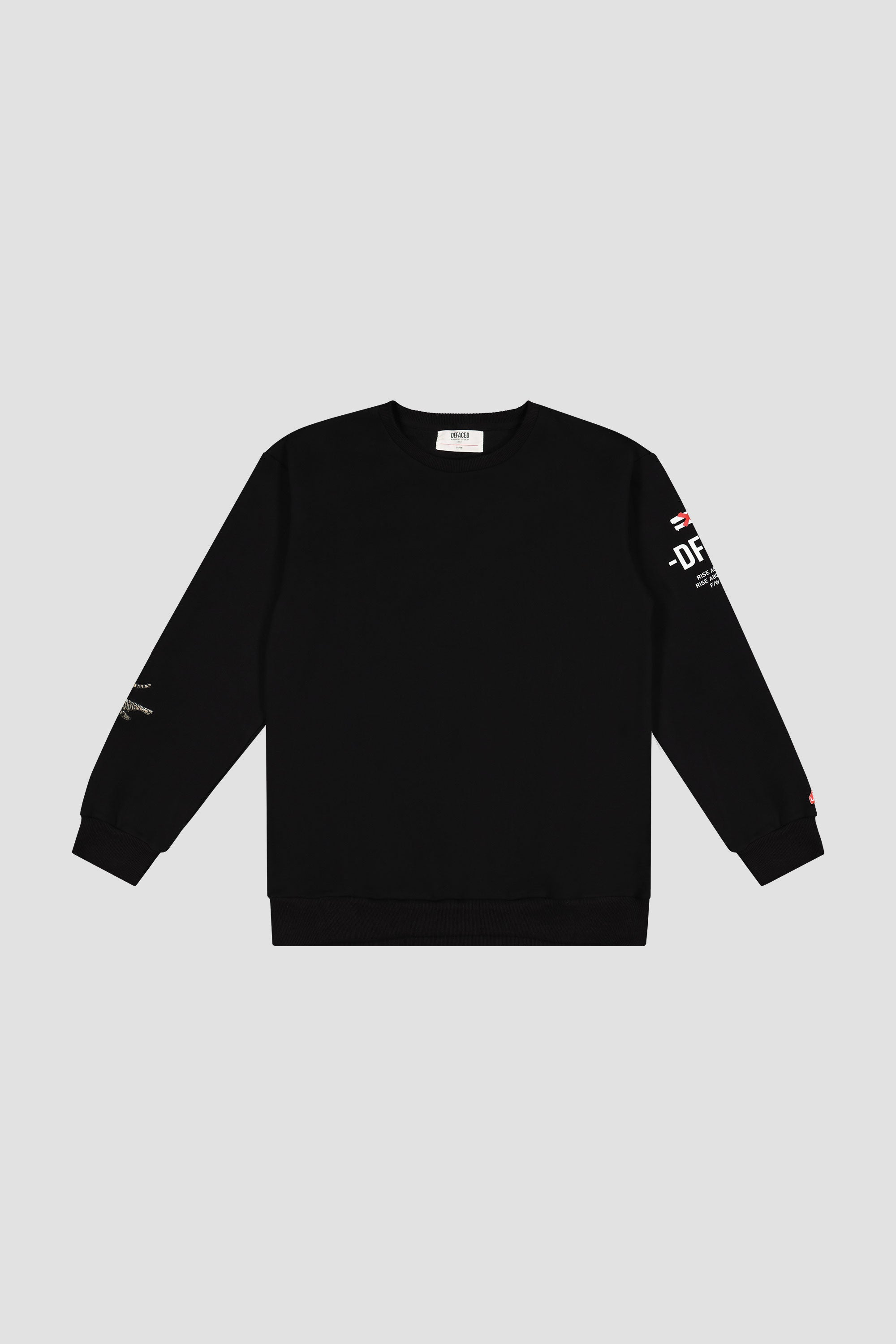 TIGER EMBROIDERED CREWNECK