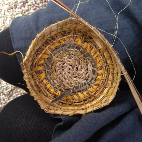 Baskets from the garden Craft workshop
