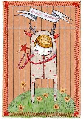 Sweet and whimsical illustrations make beautiful greeting cards by Hannakin available at Tribe Castlemaine