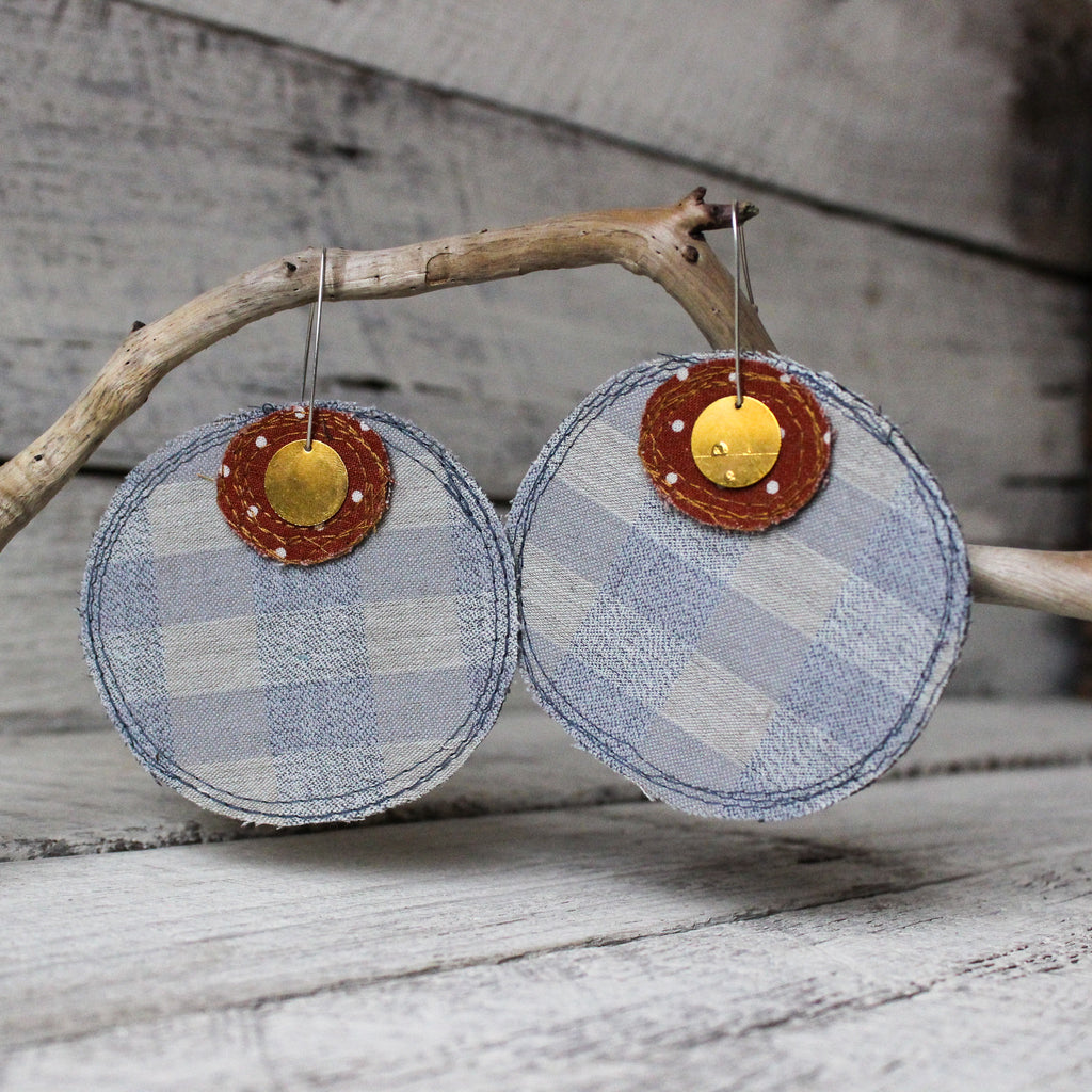 Refetched Rounds Earrings #1