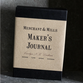 Merchant & Mills high quality maker's journal concertina workbook for committed sewers from Tribe Castlemaine