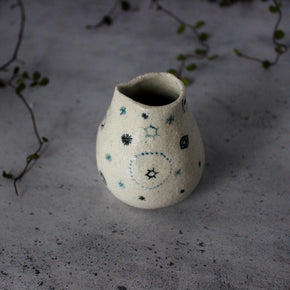 Little Ceramic Jug : Stars & Cells