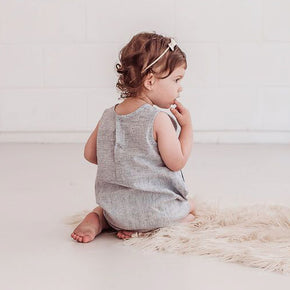 Micah Cotton/Linen Romper