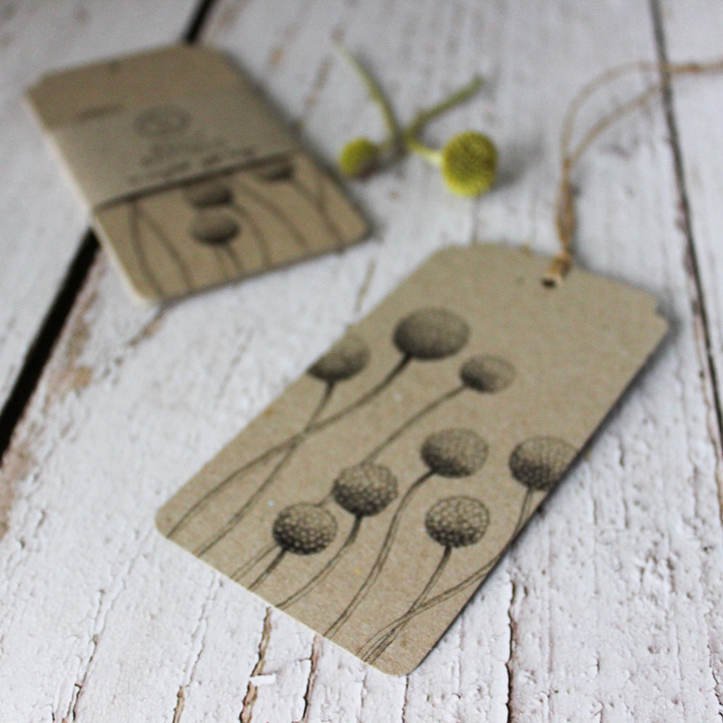 Sown 'n Sow Gift Tags : Billy Buttons