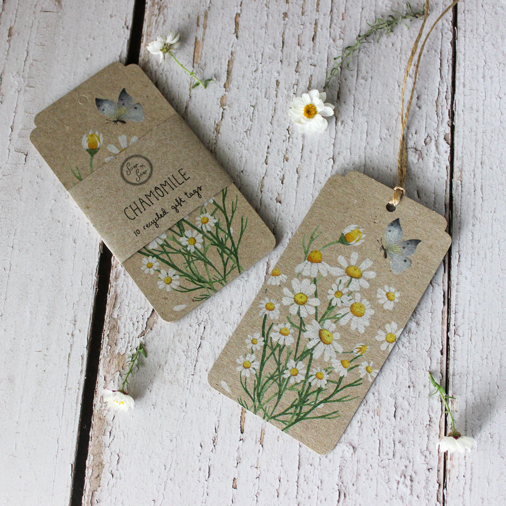 Sow 'n Sow Gift Tags : Chamomile