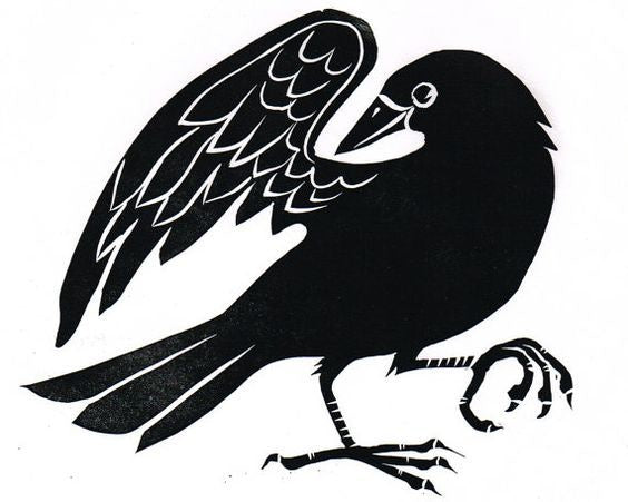 Original Lino Cut Prints : Birds : Three Designs