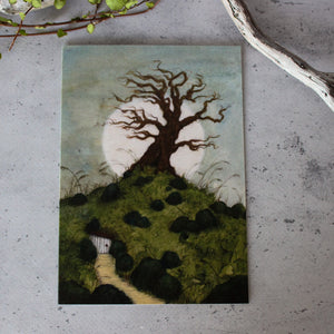 Under the Old Tree Card