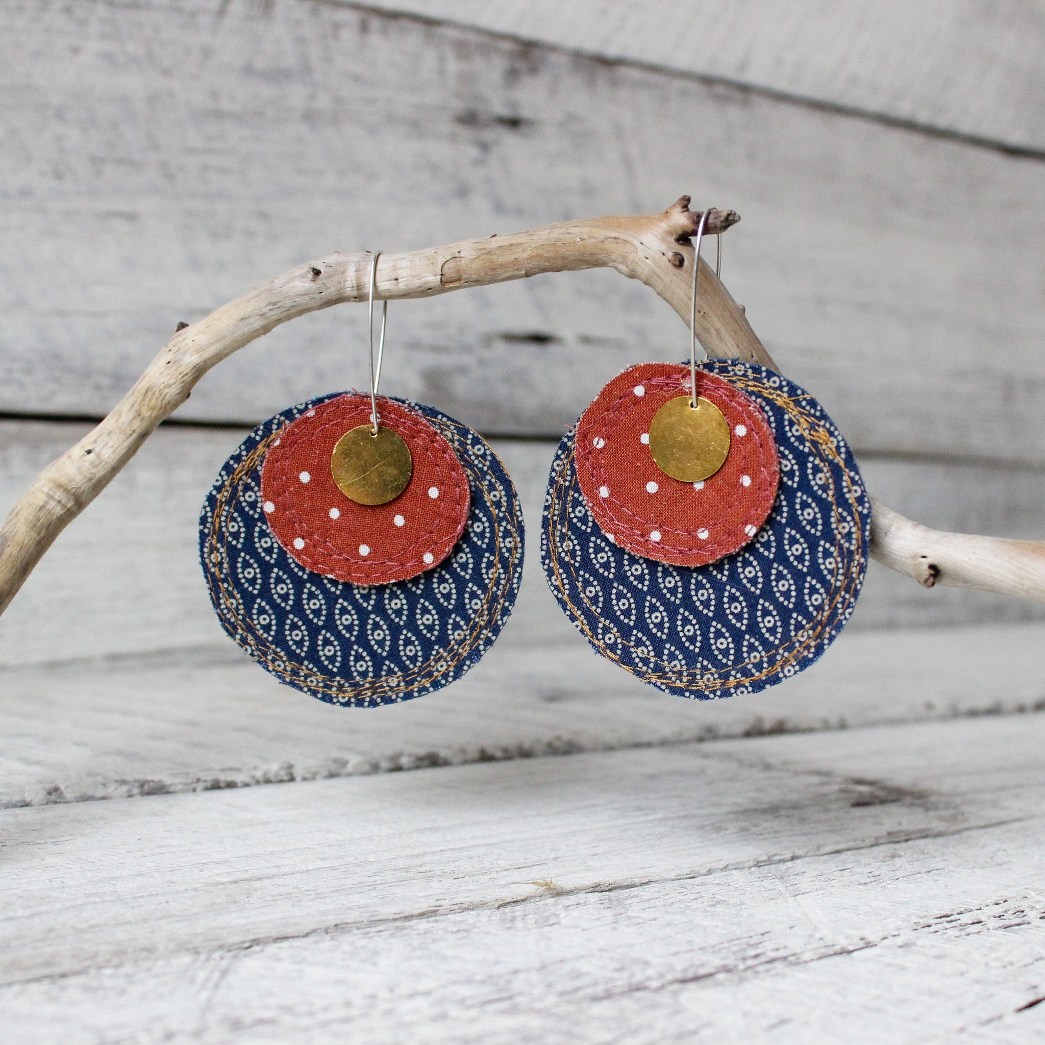 Refetched Rounds Earrings #4