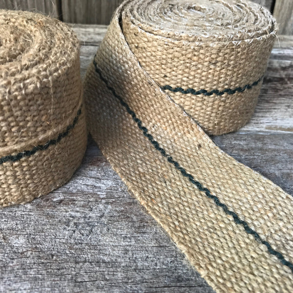 Natural hessian webbing perfect for crafting from Tribe Castlemaine