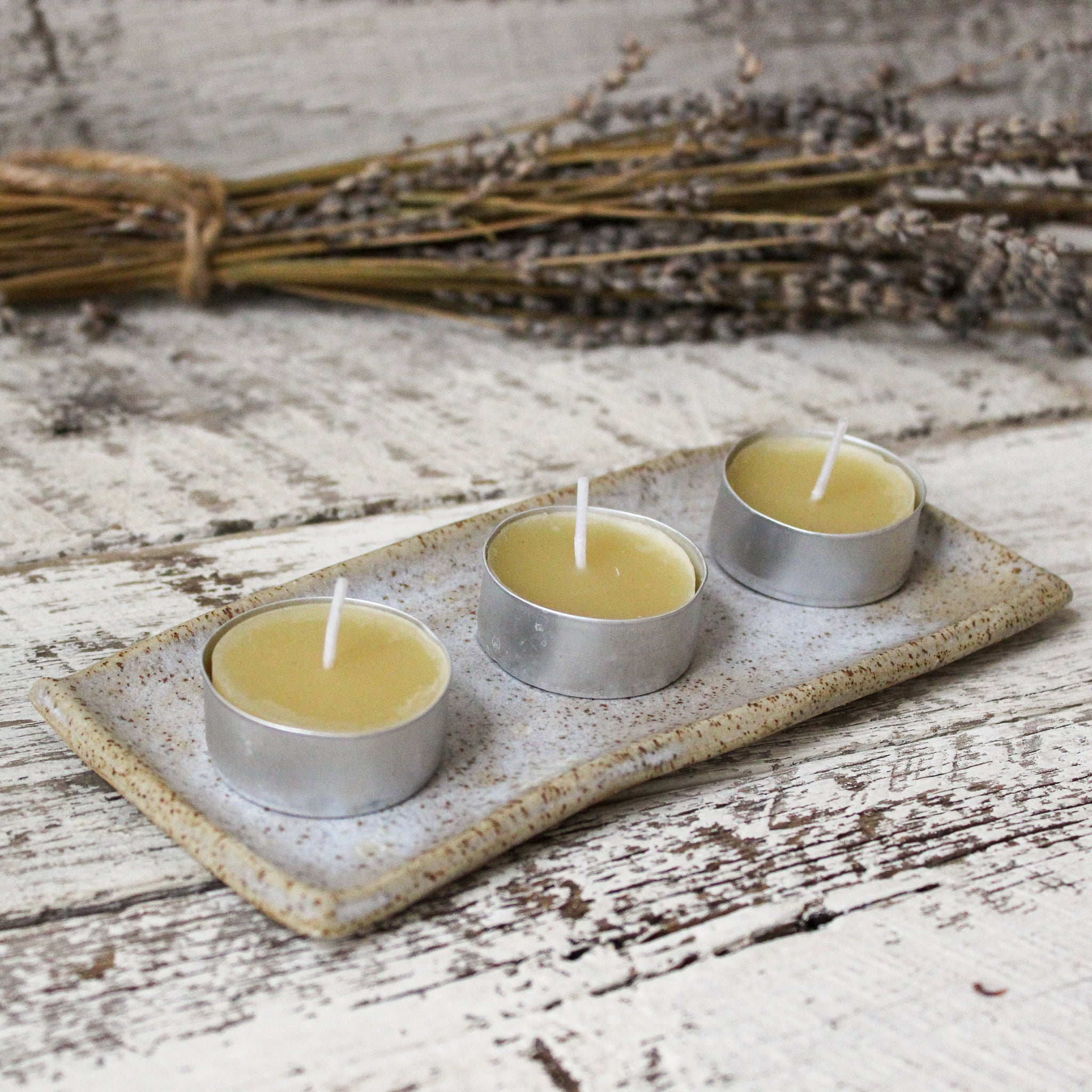 Beeswax Tea Candles