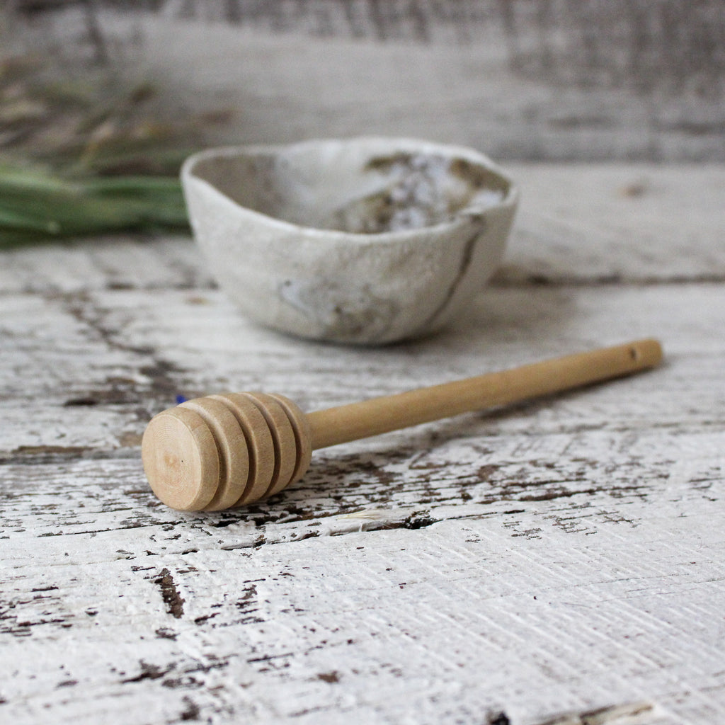 Hand Carved Honey Dipper