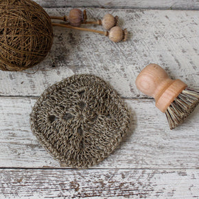 Hemp Kitchen Scrubber