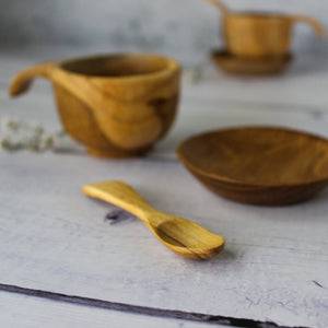 Wooden Baby Cup Set