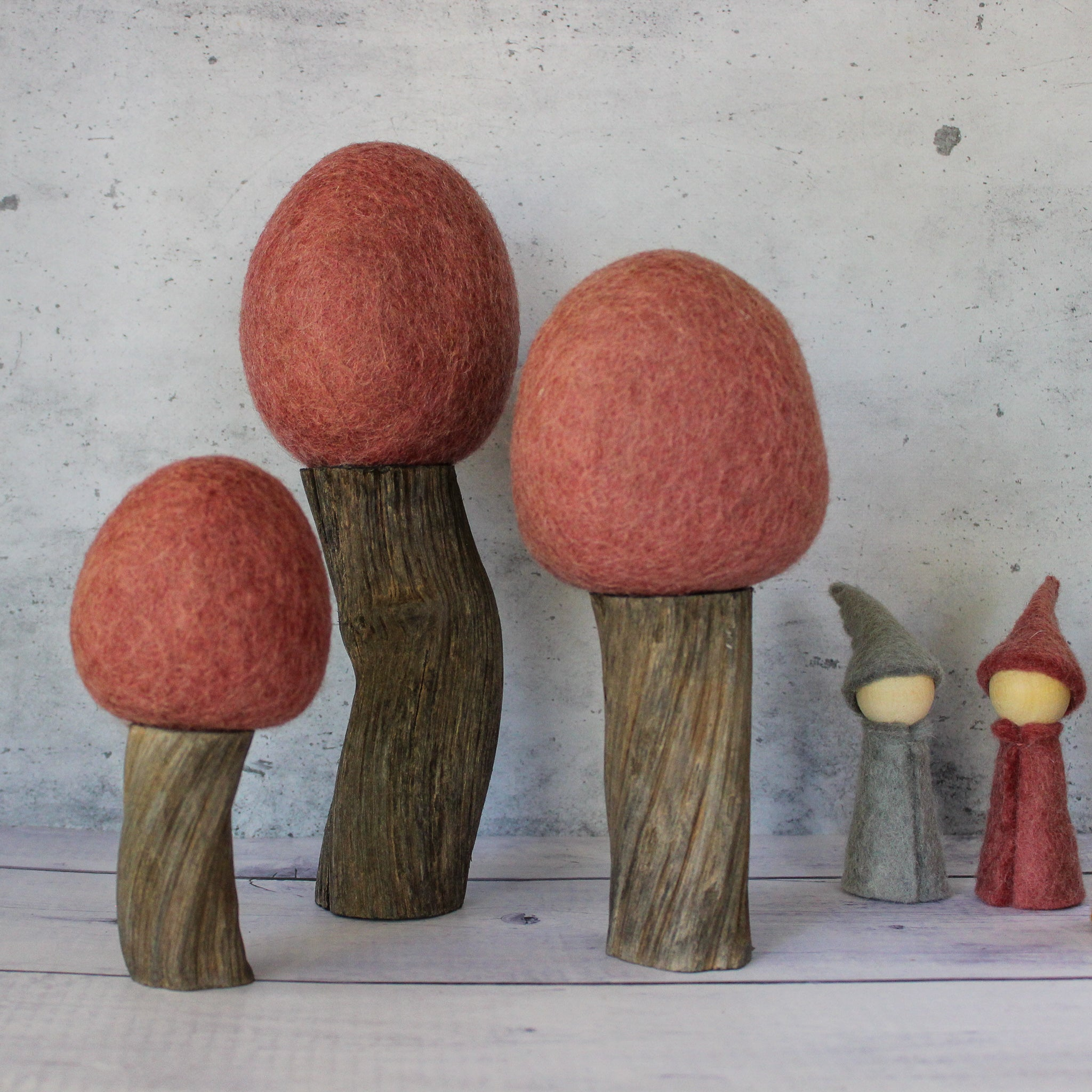 Felt Top Trees : Earth