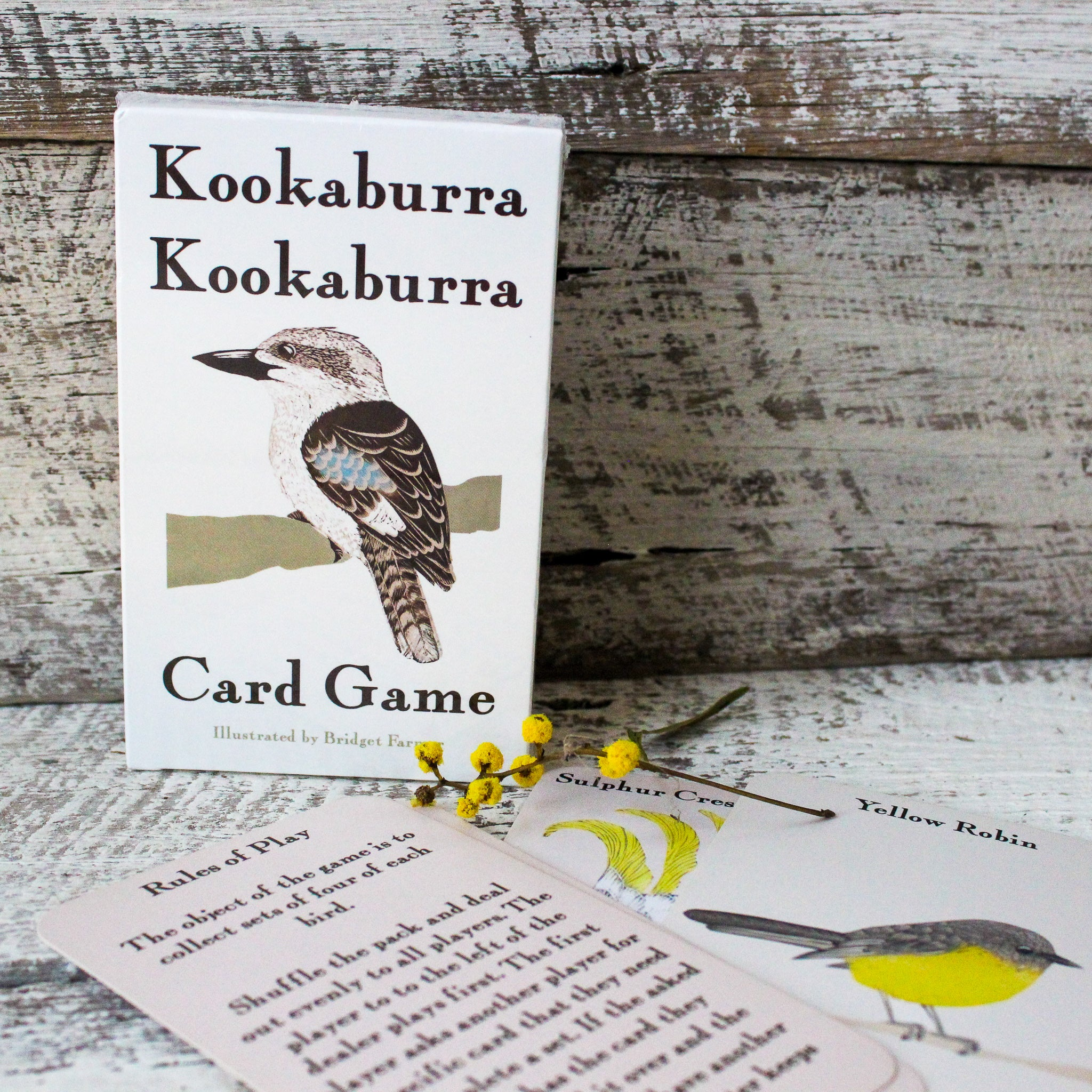 Kookaburra Card Game