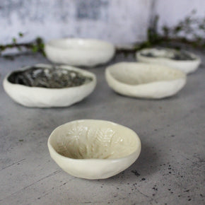 Little Lace Textured Dishes