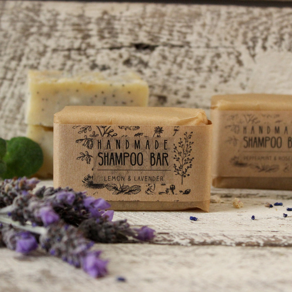 Natural shampoo bar handmade in Castlemaine by Ewe & Yarn