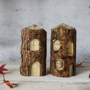 Carved Tree Houses