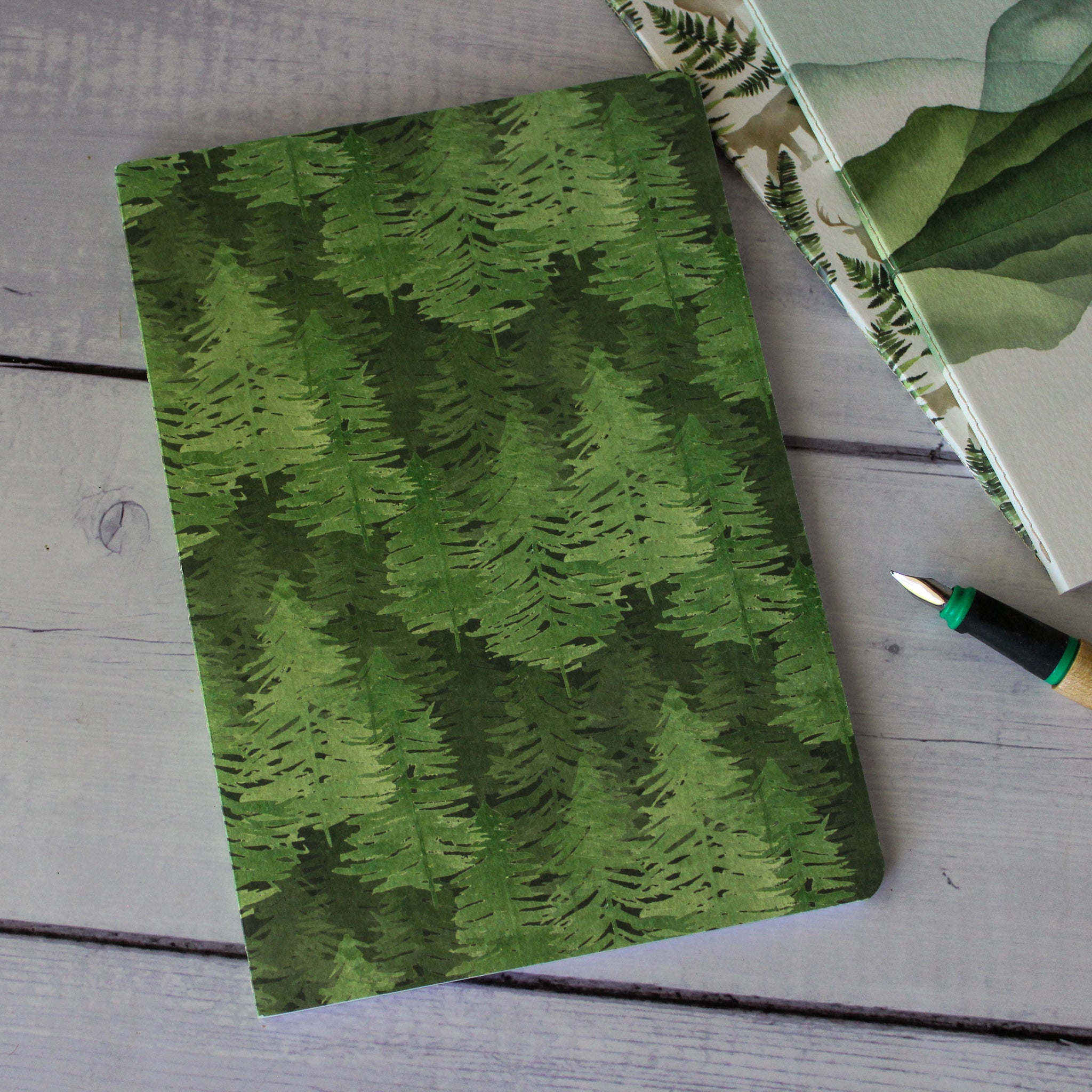Clairefontaine French Forest Notebooks