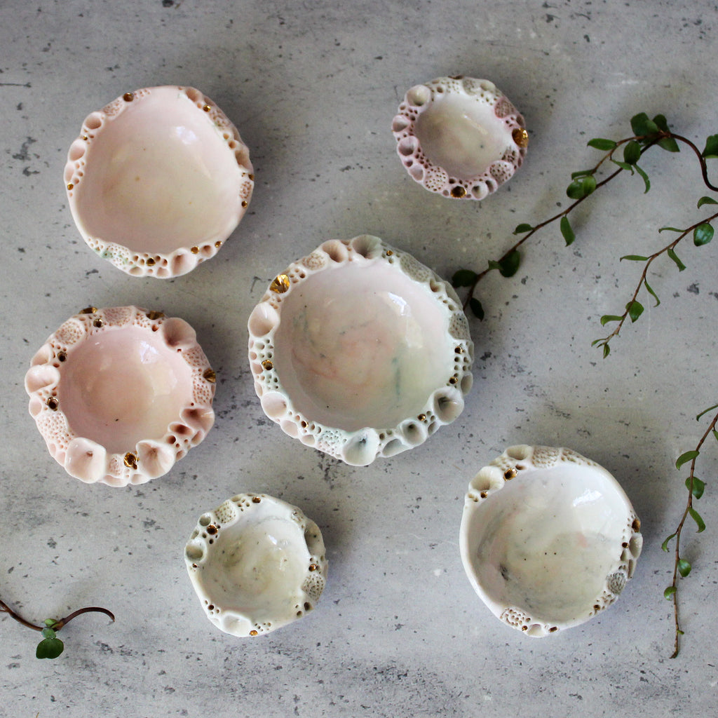 Rock Coral Dishes Pink