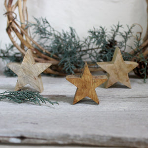 Wooden Stars : Two Sizes