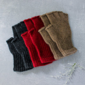 Possum Merino Fingerless Gloves