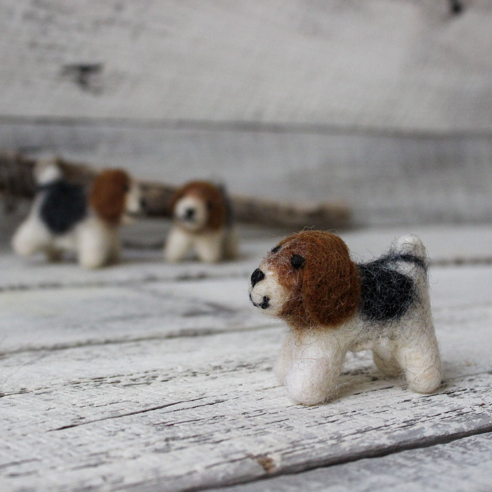 Little Felt Doggies