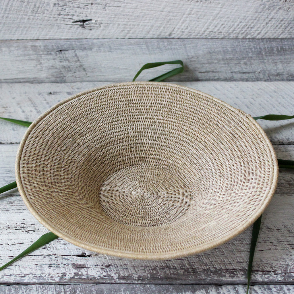 Large Woven Sisal Baskets