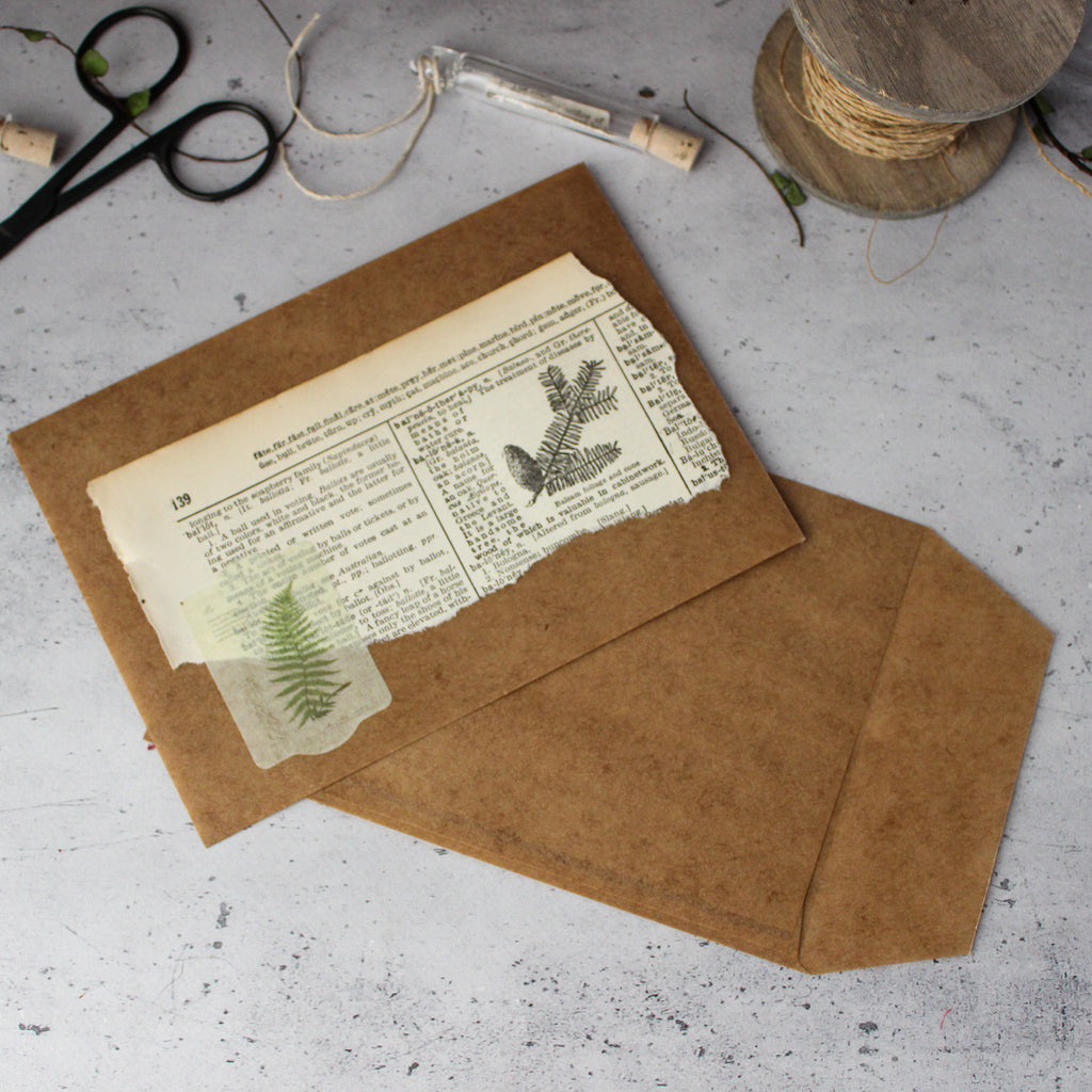 Japanese Waxed Paper Bags