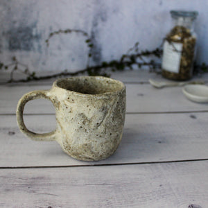 Chunky Marbled Handle Cups