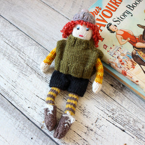 Handknitted Harry Doll