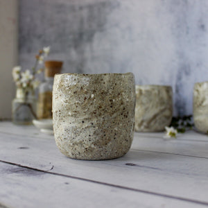 Marbled Stoneware Latte Cups