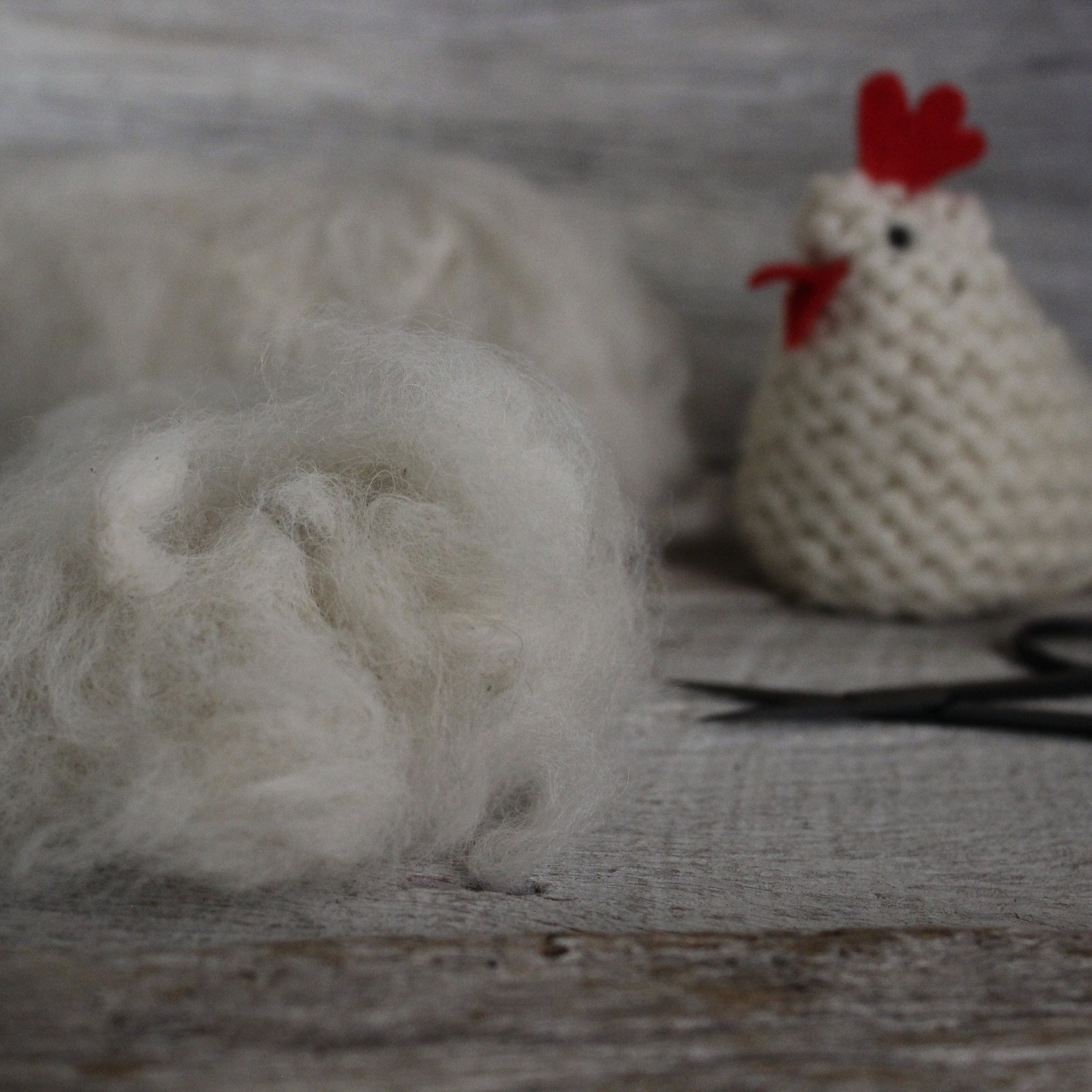 Natural Alpaca Fleece Toy Stuffing