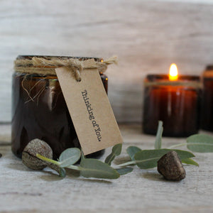 Beeswax Candle Jars