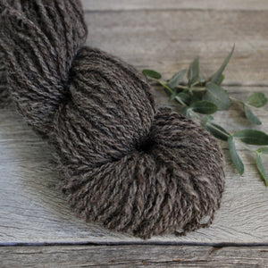 Tene's Local Handspun Yarn Dark Grey