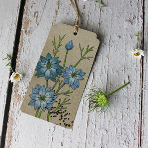 Sow 'n Sow Gift Tags : Love in the Mist