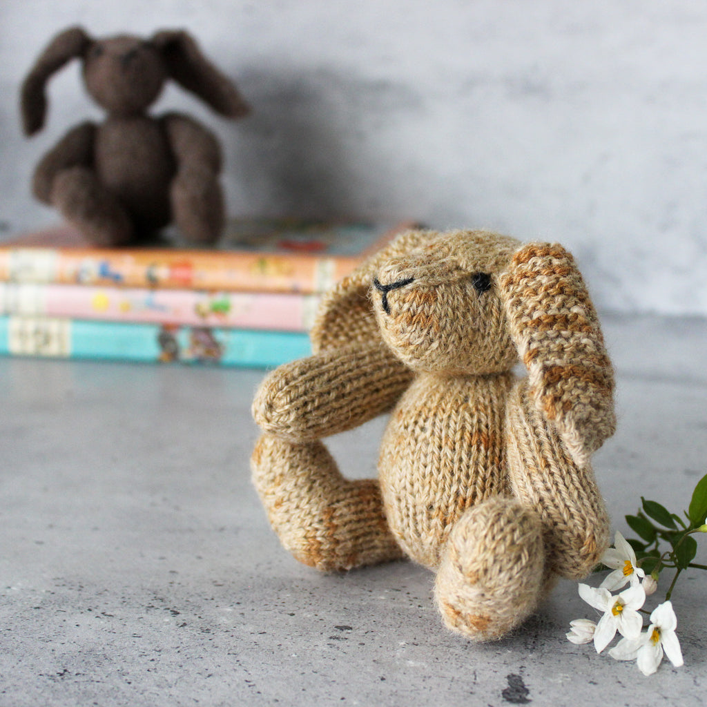 Hand knitted Bunnies
