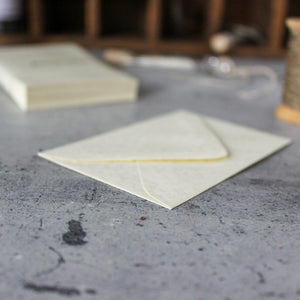 Mini Cream Envelopes