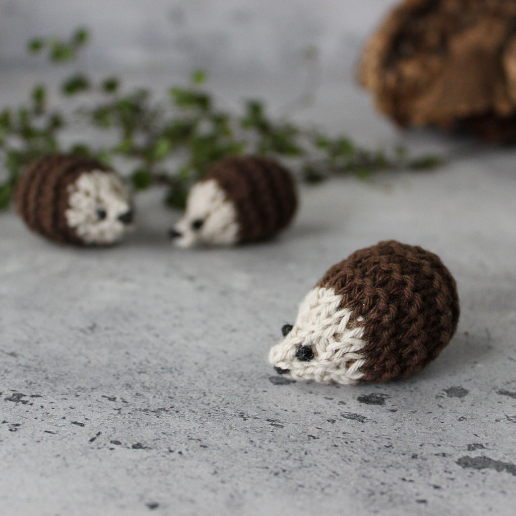 Little Knitted Hedgehogs