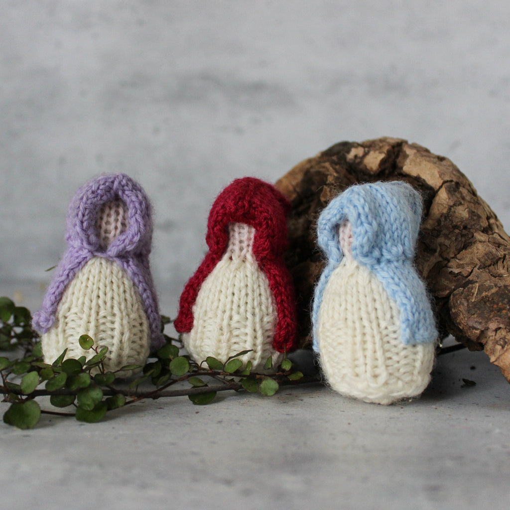 Hooded Knitted Gnomes