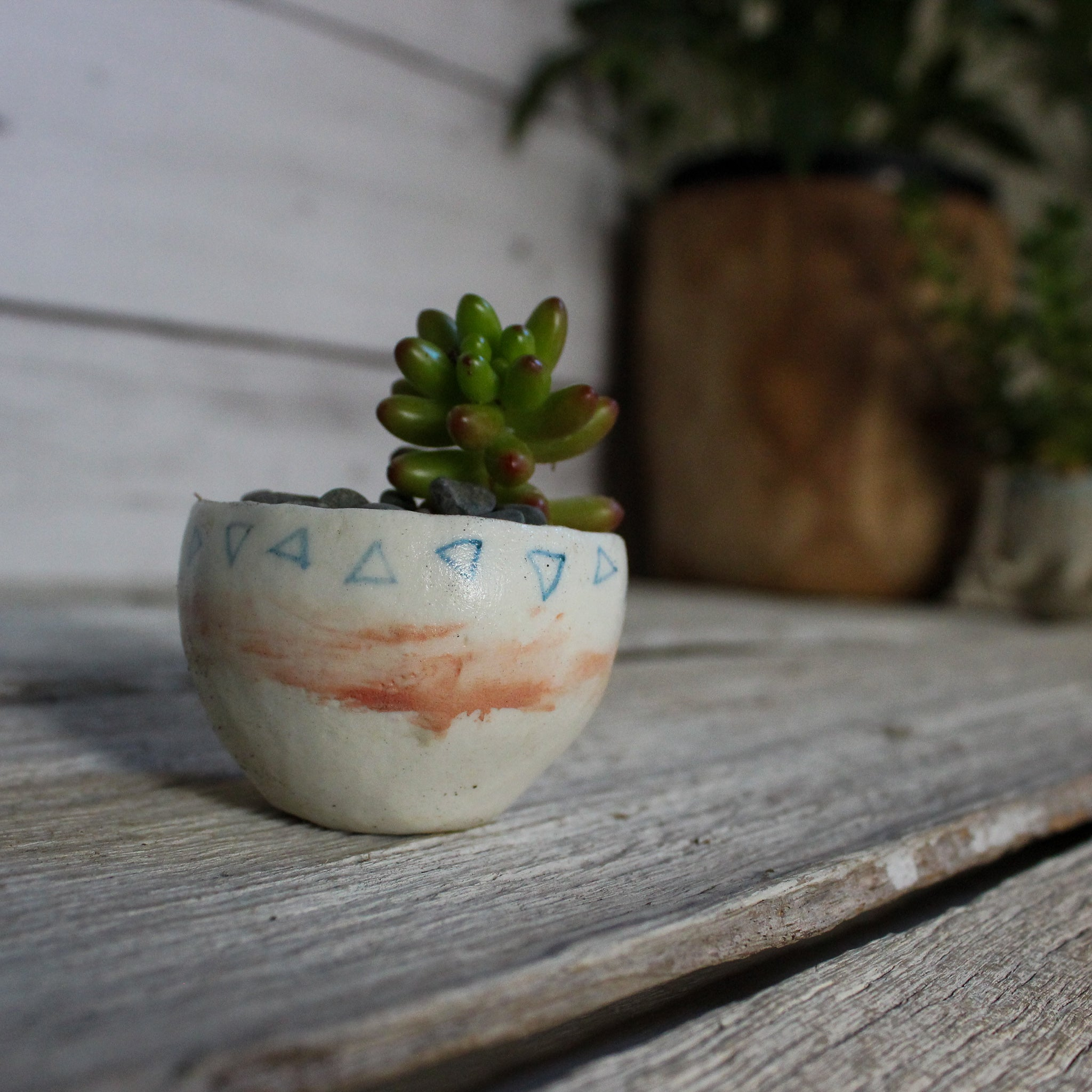 Tiny Ceramic Planter